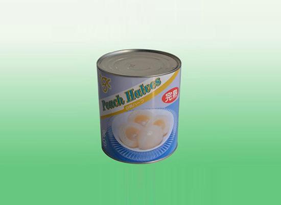 天川完熟白桃罐头滑嫩可口,高颜值引人注目!