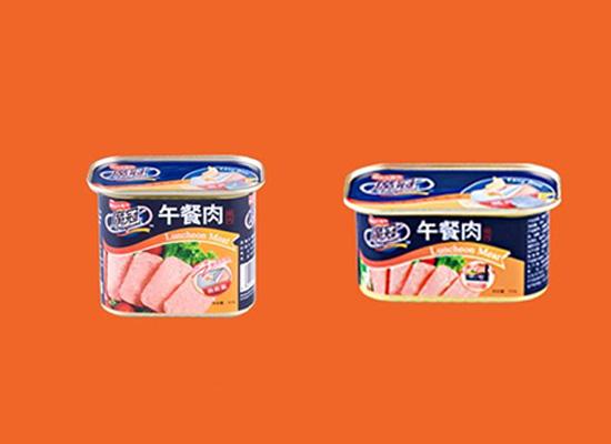 休闲肉制品午餐肉小罐头,慢享时光享受肉的美味!