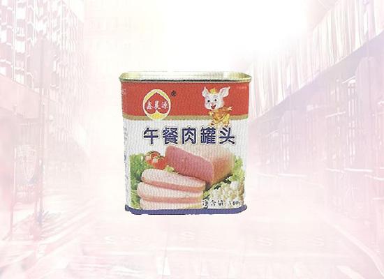 鑫晨源午餐肉罐头好吃不腻,肉香味浓郁!