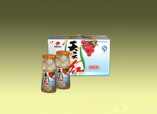 天天红荔枝罐头,鲜爽口感保留水果原本的风味