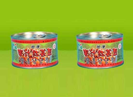 旭康蜜汁红芸豆罐头给你甜蜜好滋味,慢享生活就这样简单!