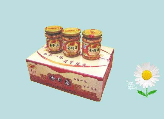 香辣金针菇味道浓郁很下饭,消费者喜欢的下饭菜