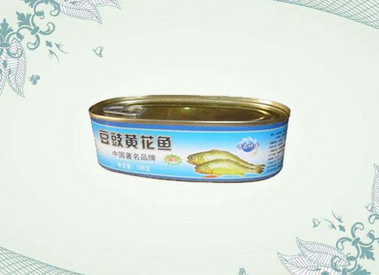 豆豉黄花鱼罐头的美味只有吃过的人才了解!