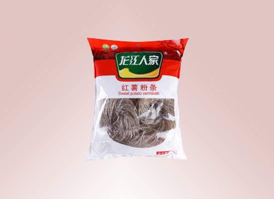 石家庄市龙江食品公司以品质为主,打造天然粉丝产品