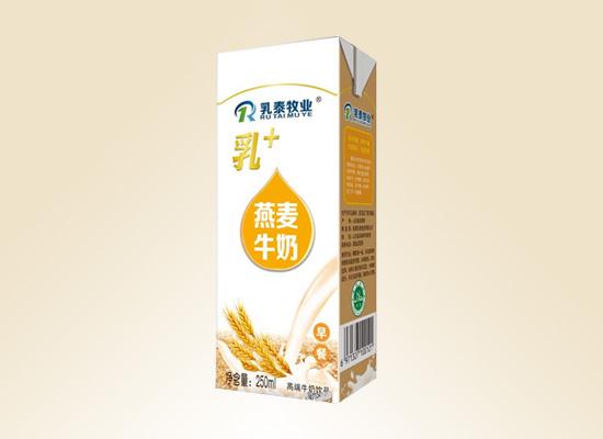 临清乳泰牧业公司推出营养牛奶,布局百亿乳饮料市场