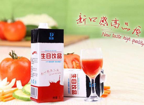 河北东顶饮品公司以创新为发展,打造健康复合果蔬汁饮品