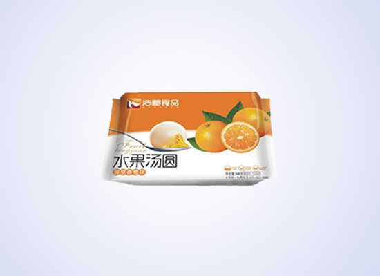 浩鹏水果味的汤圆,让果香味引你食欲!