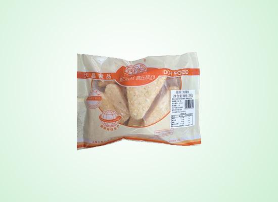 大昌行三角薯饼放心食用,粗粮食品更健康!