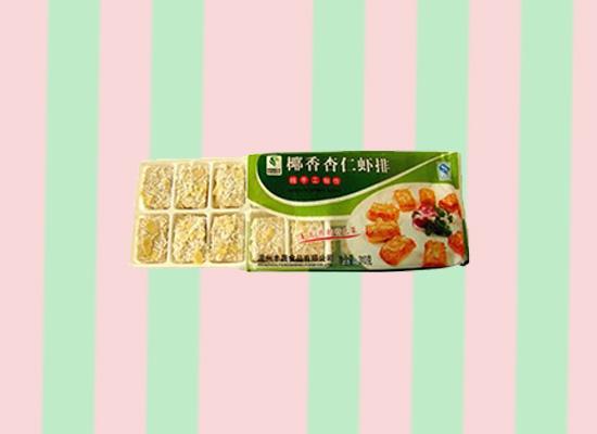 丰晟椰香杏仁虾排味道独特,一款带有民族特色的有机食品!