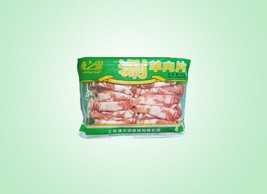 浦之灵涮羊肉片搭配火锅口感鲜嫩,好吃到停不下来!
