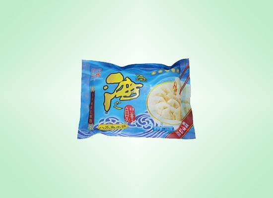 渤海之鲜八爪鱼水饺,手工制作的鲜水饺!