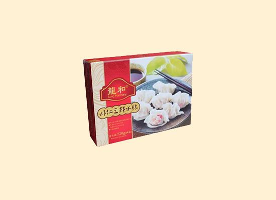 龙和虾仁三鲜水饺,让颜值和口感同在!