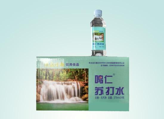 商丘天润饮品公司以健康为前提,打造健康苏打水饮品