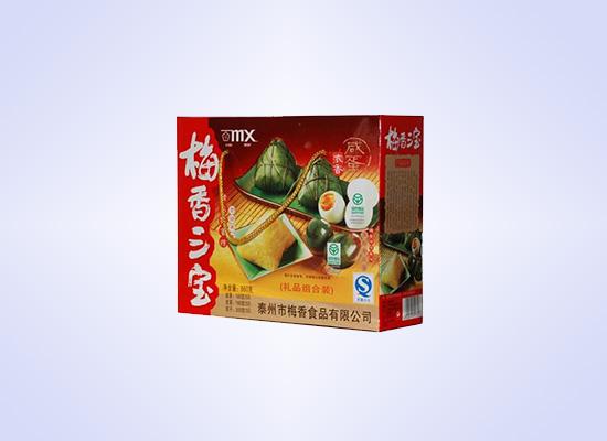 梅香三宝礼盒中,咸鸭蛋的味道别具一格!