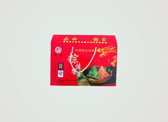 嘉兴礼盒粽子,让粽子的香糯蜜枣的甘甜溶于心中!