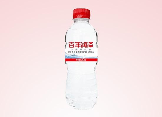 井冈山市润泽矿泉水公司以实力促发展,打造新式矿泉水加工