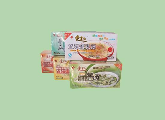 洋晟冲调蛋花汤,色香味形保持原有风味!