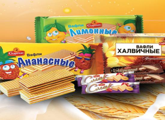 公司致力于广大消费者品尝到东欧美味健康的糖果!