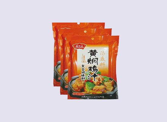 鹏味达黄焖鸡汁汤底料,给你一次轻松做大餐的机会!
