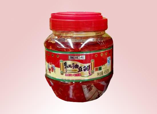 驰城牌红油豆瓣挑战你的味蕾,来自舌尖上的美味