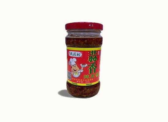 玖月树蒜香辣酱原汁原味的辣,每一口都是回味的香!