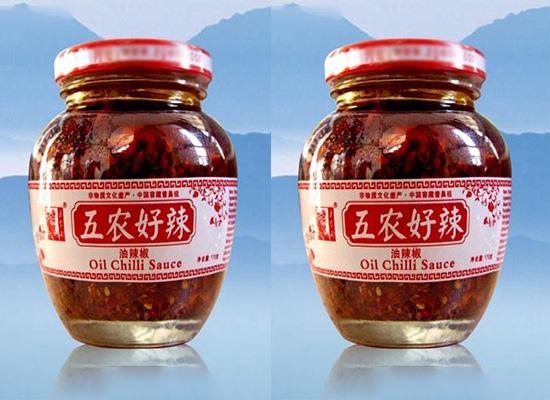 五农好油辣椒酱遵循古法,还你原生态的辣椒酱味道!