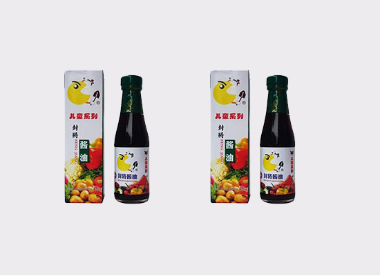 天琥儿童瓶装酱油,小小瓶子内富含大大的营养!