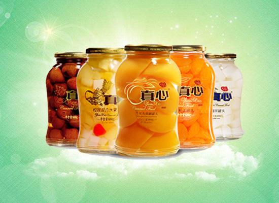 真心水果罐头28年只因有你,做一瓶有内涵的营养罐头!