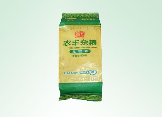 农丰杂粮高粱米营养丰富,膳食纤维调节肠胃效果棒