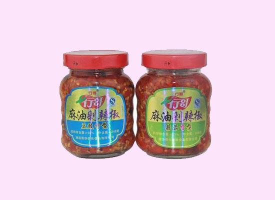行哥麻油剁椒酱,带你领略辣椒酱的别样美味!