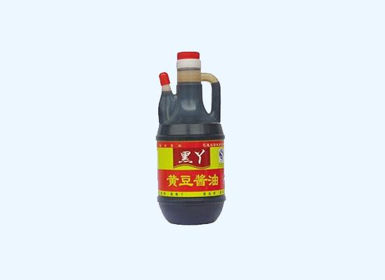 黑丫黄豆酱油高温灭菌,给你原汁原味绿色酱!
