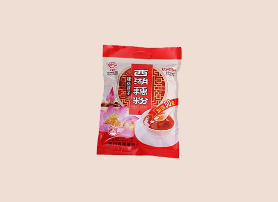天堂桂花莲子西湖藕粉,杭州风味口味更佳!