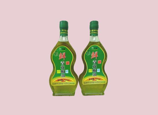 建兴鲜青花椒油绿色食用油,颜值和品质兼备!