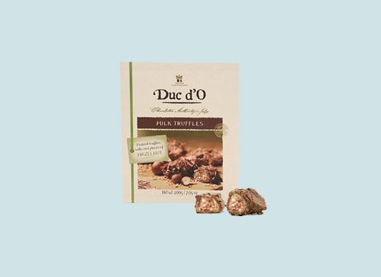 伊纳思榛子巧克力源自大自然的恩赐,松露形状更有格调!