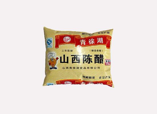 青徐湖老陈醋色泽酱红,成就独具一格的山西陈醋!