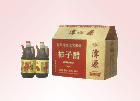 潭源柿子醋采用古老的传统配方,窖藏发酵精心酿制