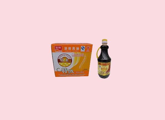 港峰酱油追求品质,让美味进入千万家!