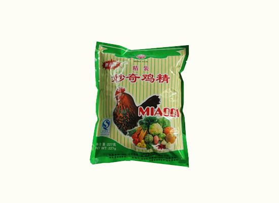 妙奇鸡精调味料鲜美且浓香,炒菜炖汤很需要它!