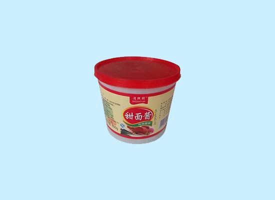 清照园甜面酱甜而不腻,传承技术制作口味正!