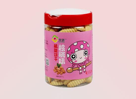 霖琳实业采用传统工艺,打造高营养系列饼干