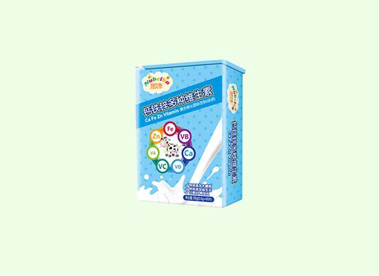 努贝卡炫彩压片糖果,多种维生素同时补充!