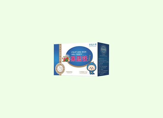 华裔三精凝胶糖果保留果蔬中的部分营养,让糖果变得营养起来!