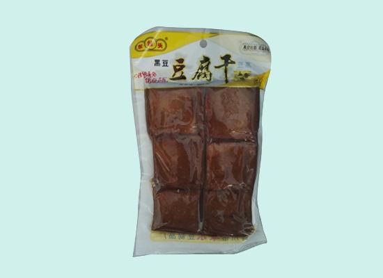 康乐豆制品抓住市场消费需求,推出多种口味豆腐干