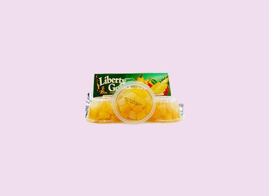 力高混合水果杯果冻口味丰富,符合大众口感需求!