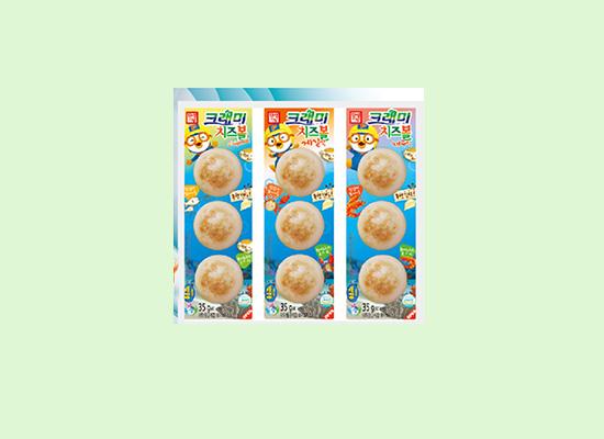 韩星客唻美奶酪鳕鱼饼质量好,做消费者放心食品!