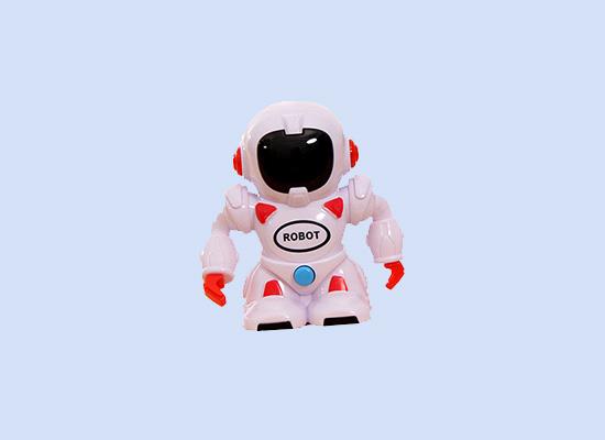 酷巴熊会唱歌机器人奶片玩具,吃和玩两不耽误!