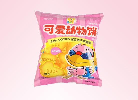 两只老虎动物饼干采用独特的配方,传承中国传统工艺