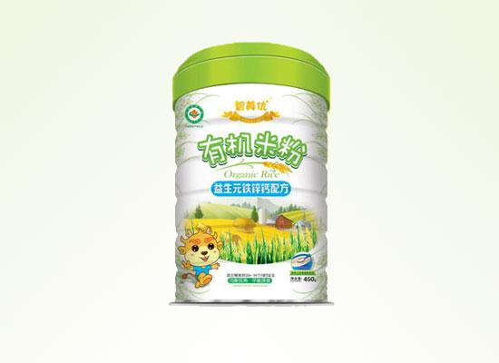 """智美优食品肩扛""""有机食品""""标签,为消费者提供天然食品"""
