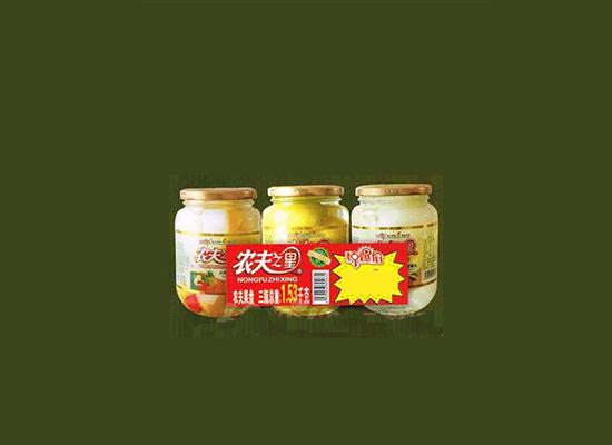 农夫罐头经过多年发展,坚持为始终为客户提供好的产品