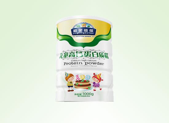 利和德食品专注儿童营养食品,打造出一款适合儿童饮用的蛋白质粉